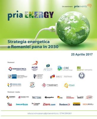Strategia energetica a Romaniei va fi dezbatuta la PRIA Energy Conference pe 25 aprilie