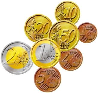 Stratfor: Criza ar putea ajuta Romania sa adopte euro mai devreme