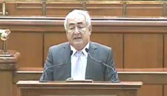 Strauss-Kahn: Trebuie sa va schimbati comportamentul ca sa iesiti din criza