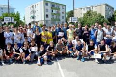 Streetball Time, proiect cofinantat de Consiliul Judetean: Patru trofee pentru campioni si un succes competitional de marca
