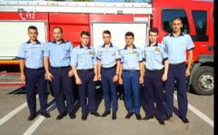 Studenti de la Facultatea de Pompieri Bucuresti, in practica la ISU Olt