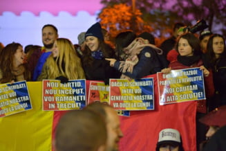 Studentii, in strada la proteste: Vom cere deschiderea balconului Universitatii