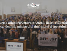 Studentii cer demisia ministrului Tineretului si Sportului