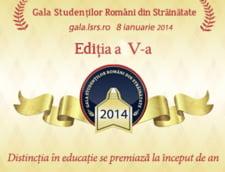 Studentii romani din strainatate, premiati pentru rezultate exceptionale