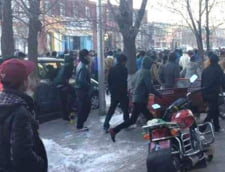 Studentii tibetani, protest fata de guvernului chinez