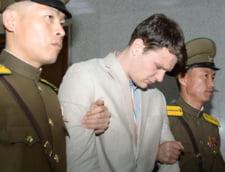Studentul american care a fost tinut prizonier un an si jumatate in Coreea de Nord a murit