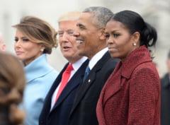 Studiu Gallup: Donald Trump si Michelle Obama, cel mai admirat barbat si cea mai admirata femeie din SUA