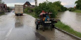 Subsoluri inundate in Odorheiu Secuiesc