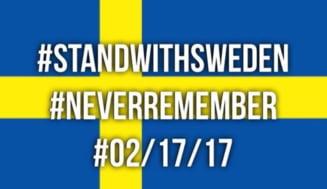 Suedia cere explicatii oficiale SUA dupa ce Trump a spus ca un incident terorist a avut loc in tara nordica