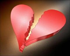 Suferintele din dragoste sunt dureroase, la propriu
