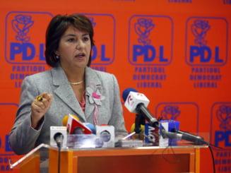 Sulfina Barbu: Ministrul Muncii va fi din PD-L (Video)