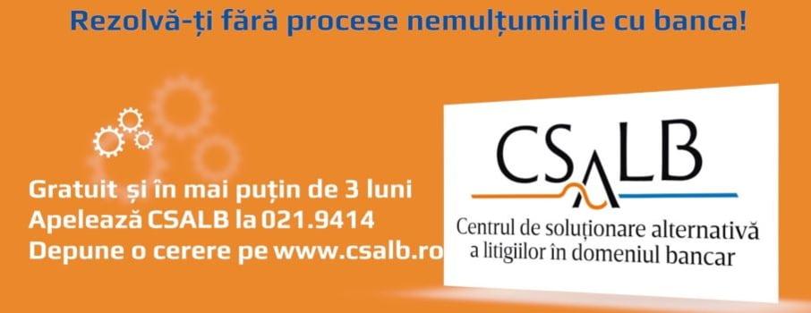 Sume record reduse de banci pentru cei care au apelat la conciliatorii CSALB