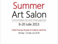 Summer Art Salon: 14 zile estivale de arta in Bucuresti si Sinaia