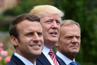 Summit G7 tensionat: Tusk ii reproseaza lui Trump ca sfideaza ordinea mondiala