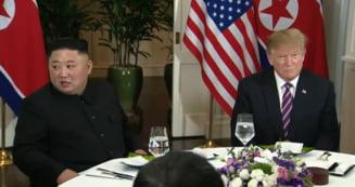 Summit nuclear in Vietnam: Trump s-a intalnit cu Kim Jong-un (Video)