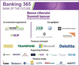 Summitul bancar: Banking 365 - Banca Viitorului