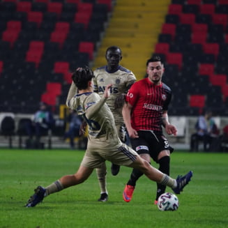 Sumudica, victorie de rasunet in Turcia. Maxim a dat un gol pentru Gaziantep