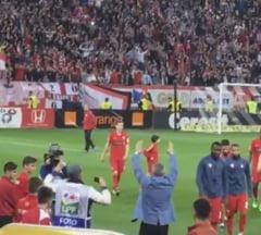 Sumudica a injurat Steaua alaturi de galeria lui Dinamo: Risca o noua suspendare?
