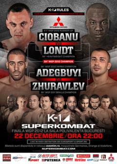 Super finala de K1 in Romania: Iata programul luptelor