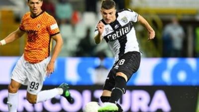 Super-gol marcat de Valentin Mihăilă pentru Parma. Cum s-a terminat meciul și ce-a făcut Dennis Man VIDEO