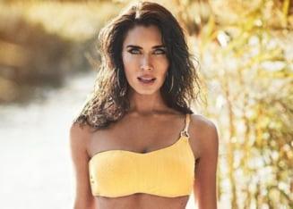 Superba sotie a lui Sergio Ramos a serbat doi ani de la nunta cu un topless de senzatie FOTO