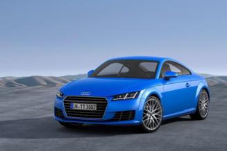 Supermasina Audi TT, inspirata din infatisarea lui Usain Bolt (Galerie foto)