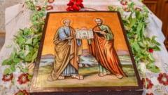 Superstitii de sarbatoarea Sfintilor Apostoli Petru si Pavel. Peste 500.000 de romani isi sarbatoresc onomastica