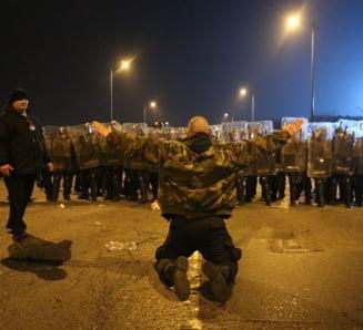 Suporteri maghiari arestati dupa meciul Ungaria Romania