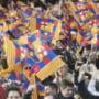 Suporterii Barcelonei l-au ridiculizat pe Mourinho