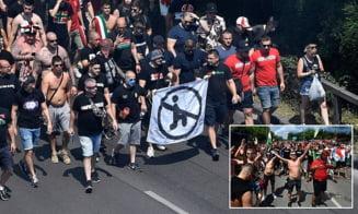 Suporterii Ungariei sunt anchetati de UEFA dupa sunetele de maimuta auzite din tribune