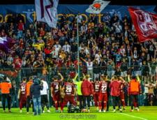 Suporterii rapidisti au sarbatorit pe noul stadion Giulesti implinirea a 97 de ani de la infiintarea clubului