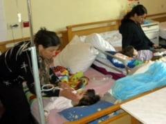 Supraaglomeratie pe sectia de Pediatrie a SJU Slatina
