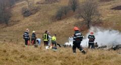 Supravietuitorii din elicopterul militar prabusit in judetul Sibiu au fost operati. Prognosticul medicilor, rezervat