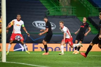 Supriza uriasa in sferturile Champions League. Leipzig a eliminat-o pe Atletico Madrid si este in semifinale