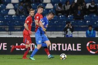 Surpriza de proportii in Liga 1: FCSB pierde la Iasi si e depasita de CFR Cluj in fruntea clasamentului