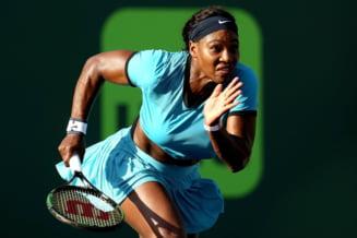 Surpriza de proportii la Miami: Serena Williams, eliminata in optimi (Video)
