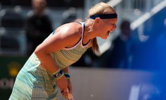 Surpriza de proportii la Roma: Kiki Bertens a fost eliminata in semifinale si n-o va depasi pe Simona Halep in clasamentul WTA