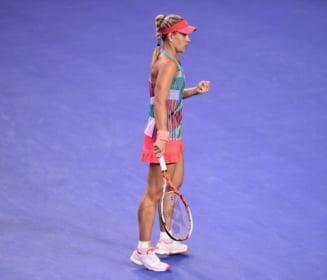 Surpriza imensa in finala Australian Open: Serena Williams, invinsa de Kerber