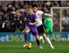 Surpriza in Spania: Real Madrid pierde la Valencia dupa un meci electrizant