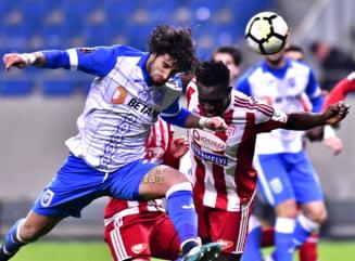 Surpriza mare in Liga 1: Craiova pierde la Sfantu Gheorghe