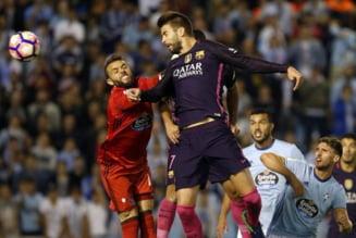Surpriza mare in Spania: Barcelona, invinsa de Celta Vigo