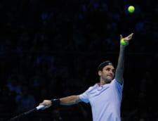 Surpriza mare la Turneul Campionilor: Roger Federer, invins in semifinale
