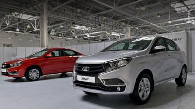 Surpriza pe piata auto: Rusii au prezentat rivalii pentru Logan si Sandero