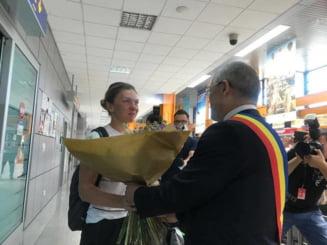 Surpriza pentru Simona Halep la sosirea la Cluj