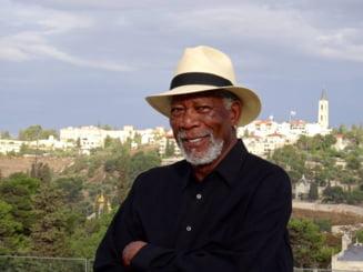 Surpriza uriasa de la Morgan Freeman pentru o romanca in pragul pensionarii, mare amatoare de Untold (Video)