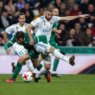 "Surpriza uriasa in Spania: Leganes a invins Real Madrid chiar pe Bernabeu si i-a scos pe ""galactici"" din Cupa"