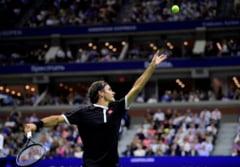 Surpriza uriasa la US Open: Roger Federer, eliminat de cel mai slab clasat semifinalist din ultimii 39 de ani