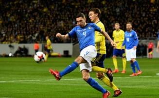 Surpriza uriasa la baraj: Italia a ratat calificarea la Cupa Mondiala pentru prima data in ultimii 60 de ani