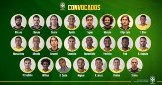 Surprizele din lotul Braziliei pentru Cupa Mondiala: Doi jucatori de la Sahtior si unul din China