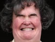 Susan Boyle, batjocorita in tren